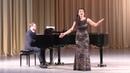 Анастасия Лерман Финал камерного отделения XI Международного конкурса молодых оперных певцов