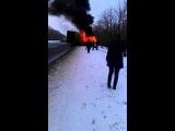 Авария под Нижним Ломовом.Это ужасно.04.01.2014