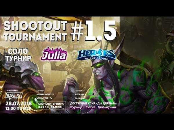 Julia Shootout Tournament 1.5 casted by Siri Round 4