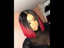 From Start to Finish: How to Make Blunt Bob on MarchQueen Ombre 1b/Bug Body Wave Hair