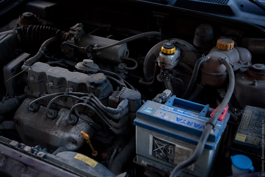 замена масла фильтра Chevrolet
