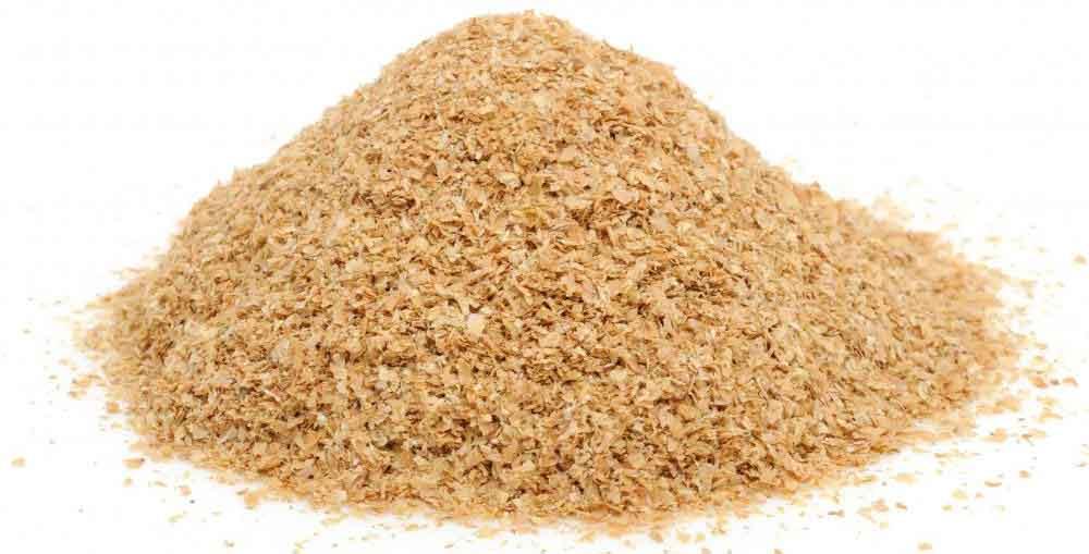 Пшеничные отруби, которые часто используют при естественном очищении кишечника