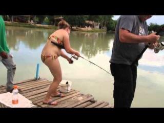Рыбалка на сомов гигантов в Таиланде!
