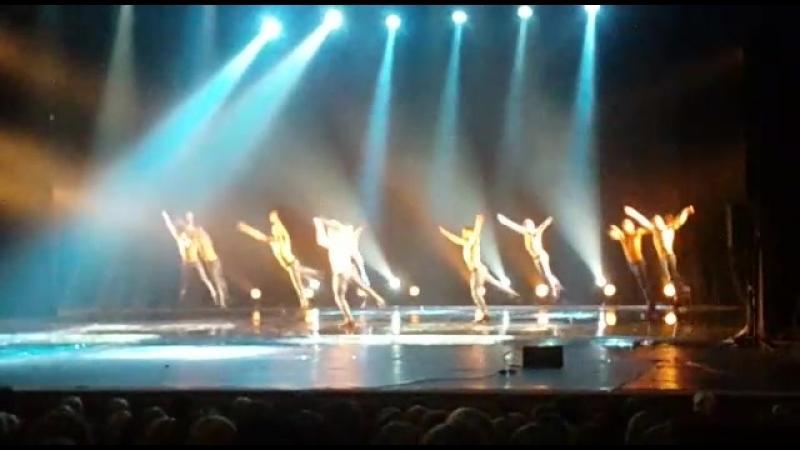 Театр танца Искушение. Шоу Под дождем