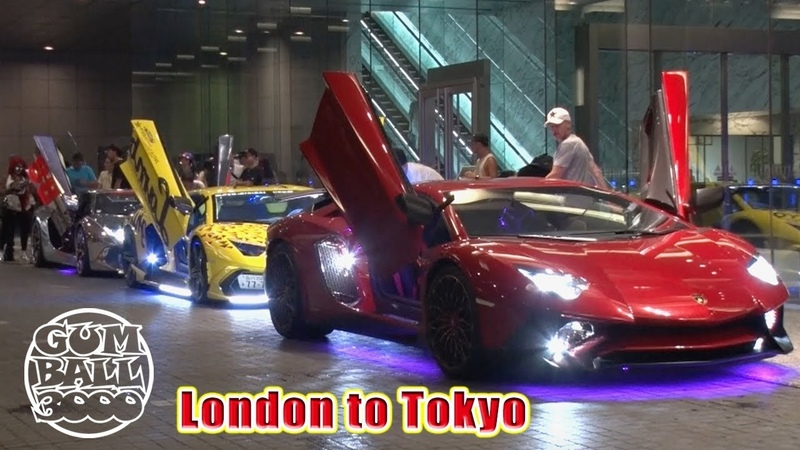 Japan's Insane LED Lamborghinis INVADE Gumball 3000 Steve's POV