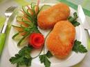 Котлеты из риса и картофеля
