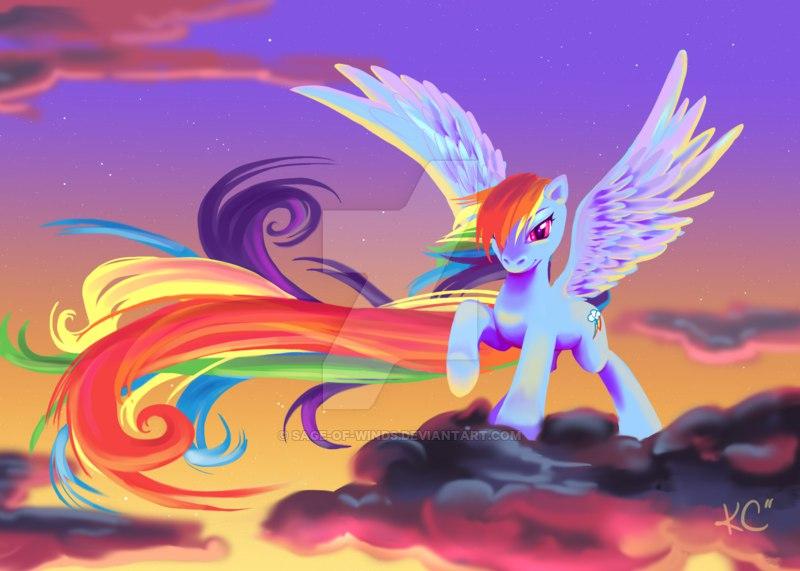 ������ ��� ��������� (Rainbow Dash Rescue)