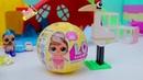 КУКЛЫ ЛОЛ играют Школа БАРБИ Мультик про Игрушки детей СЮРПРИЗ LIVE IN THE DREAMHOYSE