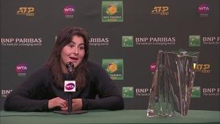 Bianca Andreescu Finals Post-Match Press Conference