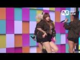 EXID AH YEAH 혜린 직캠 Hyelin Fancam Mnet MCOUNTDOWN Rehearsal150418