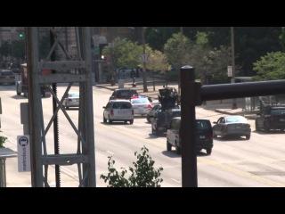Капитан Америка 2: Зимний солдат - Видео со съемок (погоня) / Первый мститель 2: Другая война - погоня