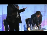 SHAH RUKH KHAN reciting Jab Tak Hai Jaan poem at the end of interview after rece