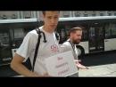 5 Пропаганда ЯнКо 5 в Санкт Петербурге Часть 2 Визитки
