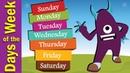 Days of the Week Song for Kids   Kindergarten, Preschool ESL   Fun Kids English