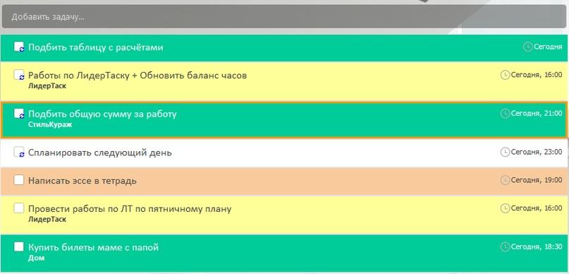 Программа для управления проектами и задачами