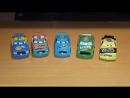 Cars Chick Hicks And Piston Cup Racers Comparison/Тачки сравнение