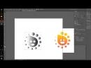 Иллюстратор База Часть 22 Апельсиновый Логотип Часть 3