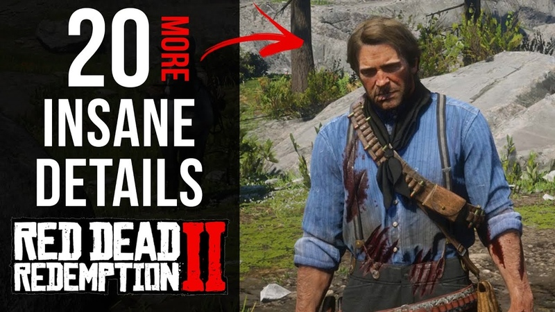 20 More INSANE Details in Red Dead Redemption 2 Part 2
