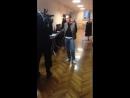 Интервью Ольги Ломоносовой перед спектаклем Сирано де Бержерак в Минске