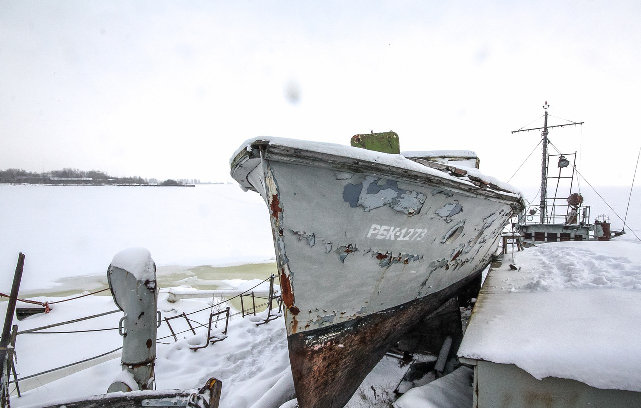 Питерская романтика затонувших кораблей