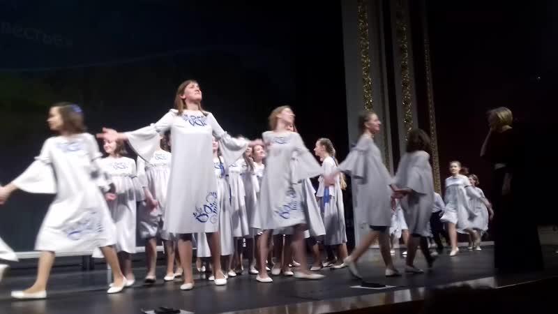 Торжественное закрытие VIII музыкального фестиваля От сердца к сердцу.На сцене образцовый хорVentus.