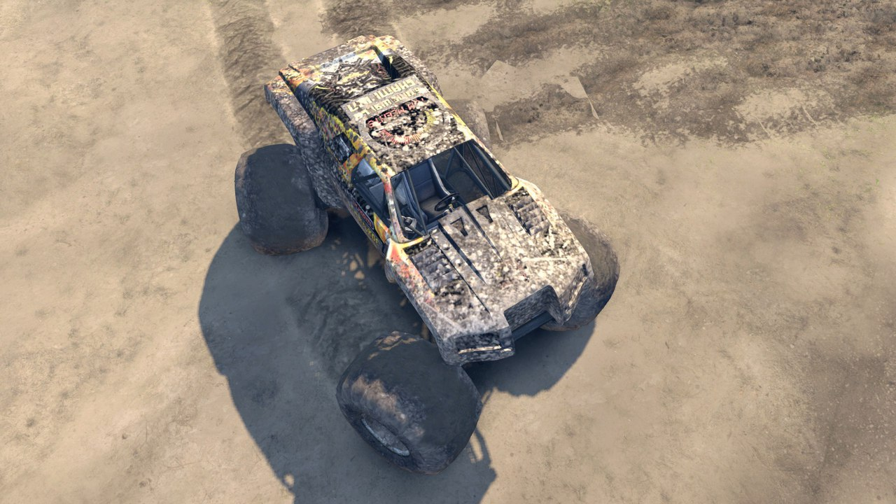 Monster Maximus для Spintires - Скриншот 1