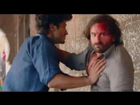 Saif Ali khan vs vidyut jammwal _ Bullet Raja movie scene