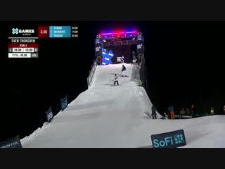Sven Thorgren wins Mens Snowboard Big Air bronze ¦ X Games Aspen 2019