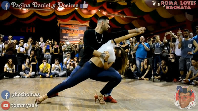 Daniel y Desiree Maddalena @ Roma Loves Bachata 2016