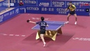 Ma Long | Unbelievable Match Point | Around the Net Hand Switch Shot