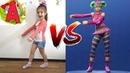 Fortnite Dance Challenge ТАНЦЫ В РЕАЛЬНОЙ ЖИЗНИ ОТ Ангелины и Ани КТО КРУЧЕ ТАНЦУЕТ Ангелина тв