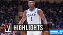 Zion WIlliamson Duke vs Ferris State - Full Highlights | 10.27.2018 | 23 Pts, 10 Rebounds!