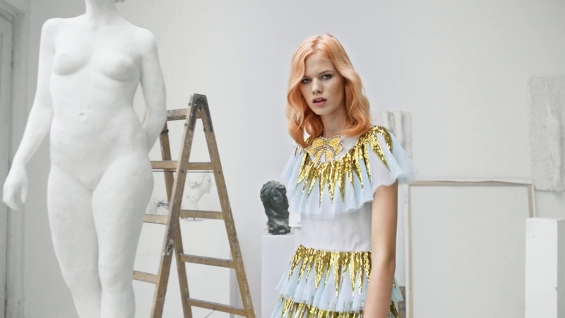 COLOR.ME by Kevin Murphy 2018 ART SCHOOL COLLECTION shot in PRAGUE