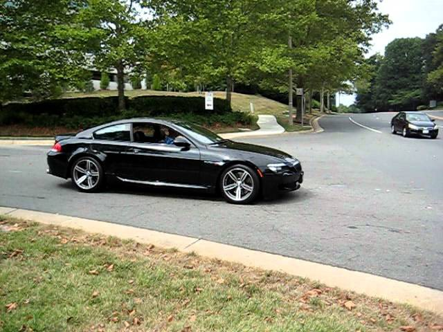 BMW M6 with Tubi Exhaust