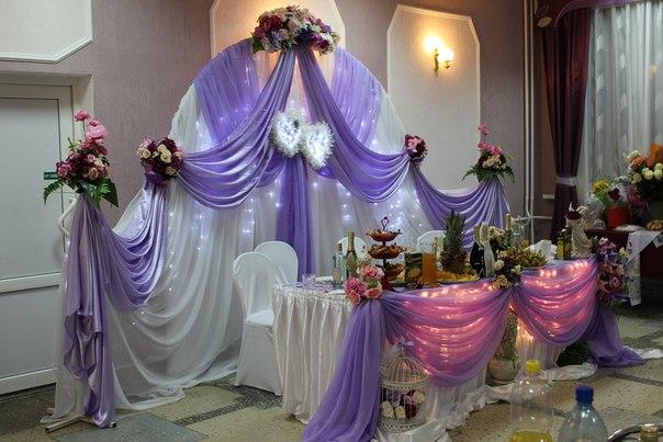 Сколько стоит украшение зала на свадьбу цена