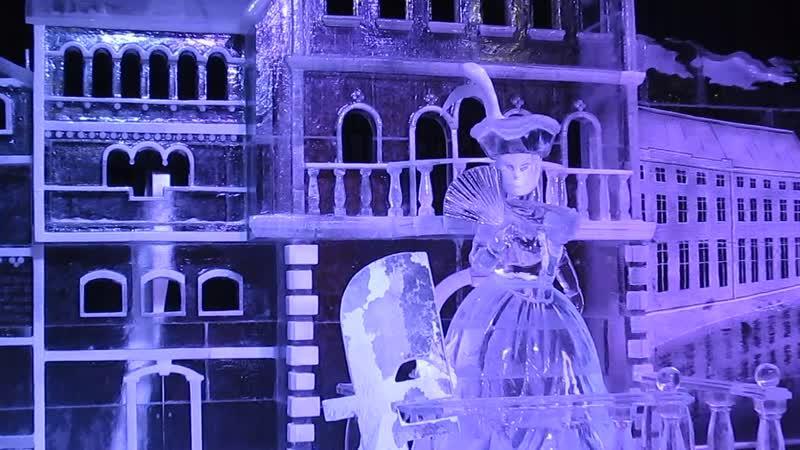 Ледяные скульптуры .Италия-Санкт-Петербург- Индия