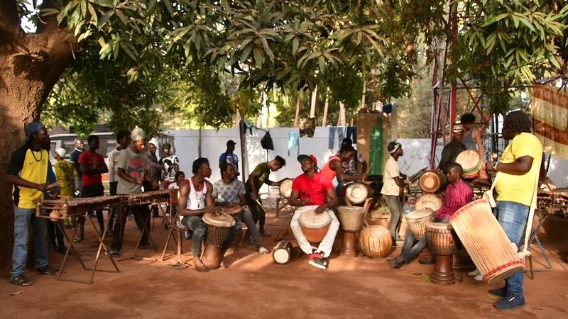 Bwazan at Maison des Jeunes, Bamako, Mali, Feb 2018 3-0592