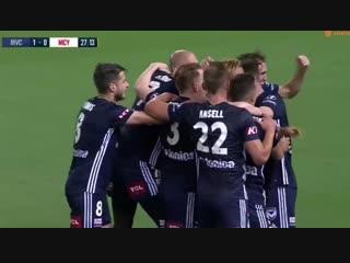 Дебютный гол Хонды не помог «Мельбурн Виктори» победить в дерби с «Сити»