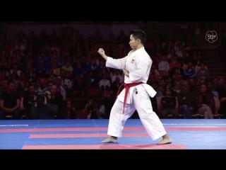 Bronze. chee wei lim. kata anan. 2016 world karate championships