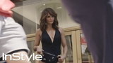 Supermodel Helena Christensen Traverses NYC in a Bathing Suit InStyle