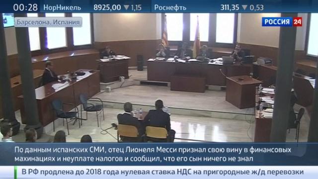 Новости на Россия 24 • Налоговое дело Лионеля Месси: отец футболиста взял всю вину на себя