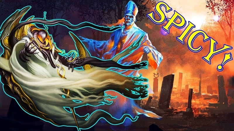 Modern Azorius SPIRITS w Supreme Phantom Remorseful Cleric – New from M19