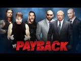 [#WrestlingToday] WWE 2K14 Evolution vs The Shield (6 Man Tag Team Match) Payback 2014