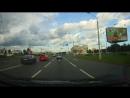 Минск через 2 сплошные на красный на перекрестке Легко!