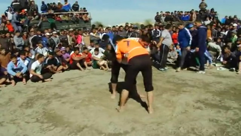 Gazanjyk toyy - Turkmen goreshi (4-nji bolegi) || vk.com/turkmenvideolar