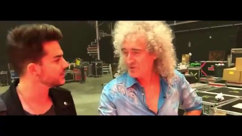 Extracted Adam's part fromMaking off of the stage for the 2015 tour by Brian May