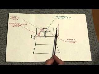 Урок 1  Мерки, построение чертежа   Школа вязания  Шерстяные истории