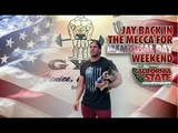 JAY BACK IN THE MECCA FOR MEMORIAL DAY WEEKEND.