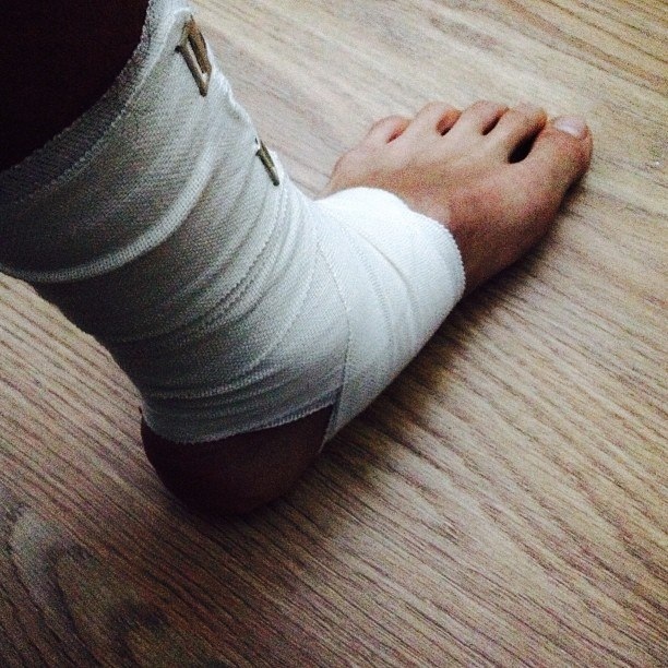 нога Альмукова