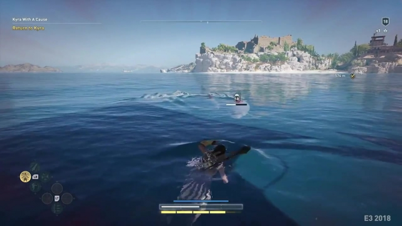 Shark Attack! - Assassin's Creed- Odyssey Gameplay Clip @1_HD.mp4